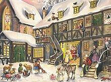 Adventskalender A5 - Weihnachten Innenstad