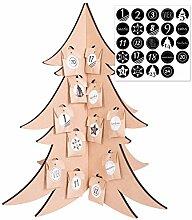 Adventskalender Baum zum Befüllen - mit 24 Tüten