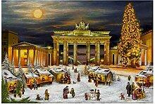 Adventskalender Berlin Brandenburger Tor