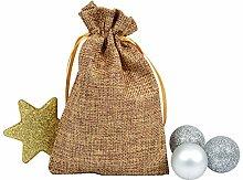 Adventskalender Beutel Bunt Geschenkbeutel