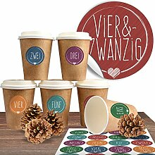 Adventskalender DIY Set mit 24