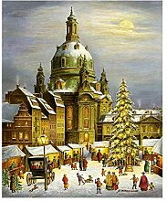 Adventskalender Dresdner Frauenkirche