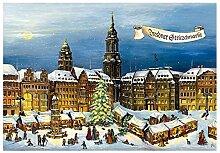Adventskalender Dresdner Striezelmark
