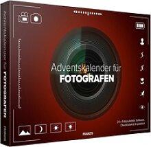 Adventskalender für Fotografen mit Fotozubehör,
