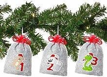 Adventskalender für Kinder - Weihnachtstiere -