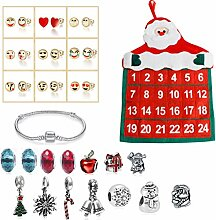 Adventskalender Kinder DIY Armband Halskette Set