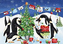Adventskalender Pinguine (Countdown bis