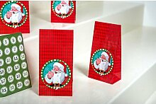 Adventskalender Santa Claus (Set of 3)
