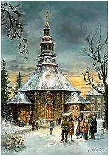 Adventskalender Seiffener Kirche