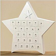 Adventskalender Star 25tlg H80