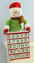 Adventskalender Stehender Weihnachtsmann Die