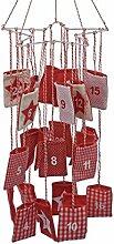 Adventskalender Stern Länge 92 cm Weihnachten