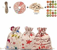 Adventskalender Taschen, Weihnachten