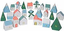 Adventskalender Village - 3D Kalender