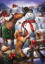 Adventskalender Winterfarm (Countdown bis