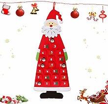 Adventskalender zum Befüllen Kinder,Weihnachten