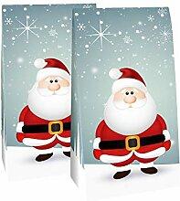 Adventskalender zum Befüllen Santa 24