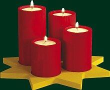 Adventskranz – Stumpenlicht – Teelichthalter -