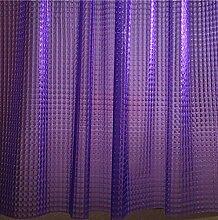 Adwaita Duschvorhang, 3D-Kristallmuster,
