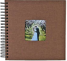 aediea Fotoalbum, 80 Seiten, Kraftpapier, für