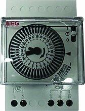 AEG AUN666116 Wanduhr Tages für elektrische 3-er Se