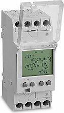 AEG aun666350Wanduhr digitale Zeitschaltuhr, für Kleinverteiler Unterverteiler