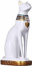 Ägyptische Pharao Cat Ornamente Skulptur