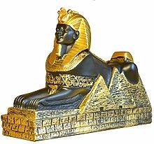 Ägyptische Sphinx, alte ägyptische Statue
