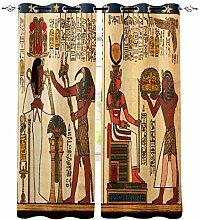 Ägyptisches Etikette Muster Bilderndkunst Fenster