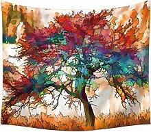 Aeici Tapisserie Vorhang Baum des Lebens