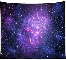 Aeici Tapisserie Vorhang Galaxie Sternenhimmel