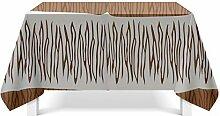 Aeici Tischdecke 110x170 cm Tischdeckenbeschwerer