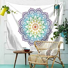 Aeici Wandbehang für Schlafzimmer Teppich