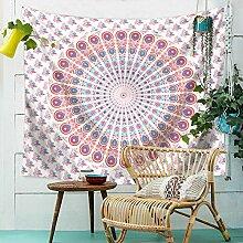 Aeici Wandbehang für Schlafzimmer Wandteppich