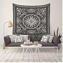 Aeici Wandteppich für Wohnzimmer Mandala