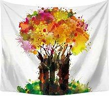 Aeici Wandtuch für Die Wand Baum des Lebens