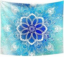 Aeici Wandtuch für Die Wand Mandala Blumenmuster