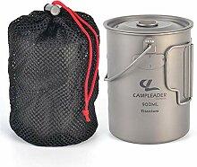AEROBATICS Titanium Hängetopf/Wasser Becher aus