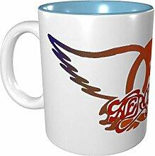 Aerosmith Farbige Tasse aus Porzellan, 330 ml,