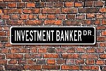 Aersing Investment Banker Geschenk Schild Bank