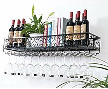 AERVEAL Flaschenhalter Weinhalter Wandmontierter