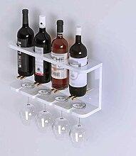 AERVEAL Flaschenhalter Weinregal An Der Wand