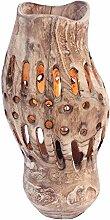 AERVEAL Stehleuchte Vertikal Holz Kreative Mode