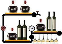 AERVEAL Weinregal Wand-Weinregal Für Weinflaschen