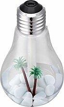 Ätherischer Öl Diffusor, HGFKJ 400Ml Lampe Luftbefeuchter Home Aroma Led Luftbefeuchter Luft Diffusor Luftreiniger ZerstäUber (SLIBER)