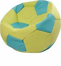 AEURX Gemütlich Sitzsack Bubibag Fußball (Color