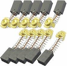 Aexit 10 stk Elektrisch Electrisch Motor Spring