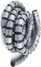 Aexit 30mmx2m Grau Baumarkt Spiralrohr Kabel Draht