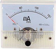aexit 85c1 dc 0 150ma rechteck paneel gauge meter simulation amperemeter klasse 25 - Dyson Deckenventilator Reinigungsbrste
