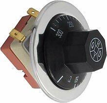 Aexit AC 250V Baumarkt 16A 50-300 Grad Celsius NC